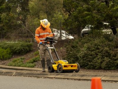 Using Ground Penetrating Radar for Subsurface Utility Location